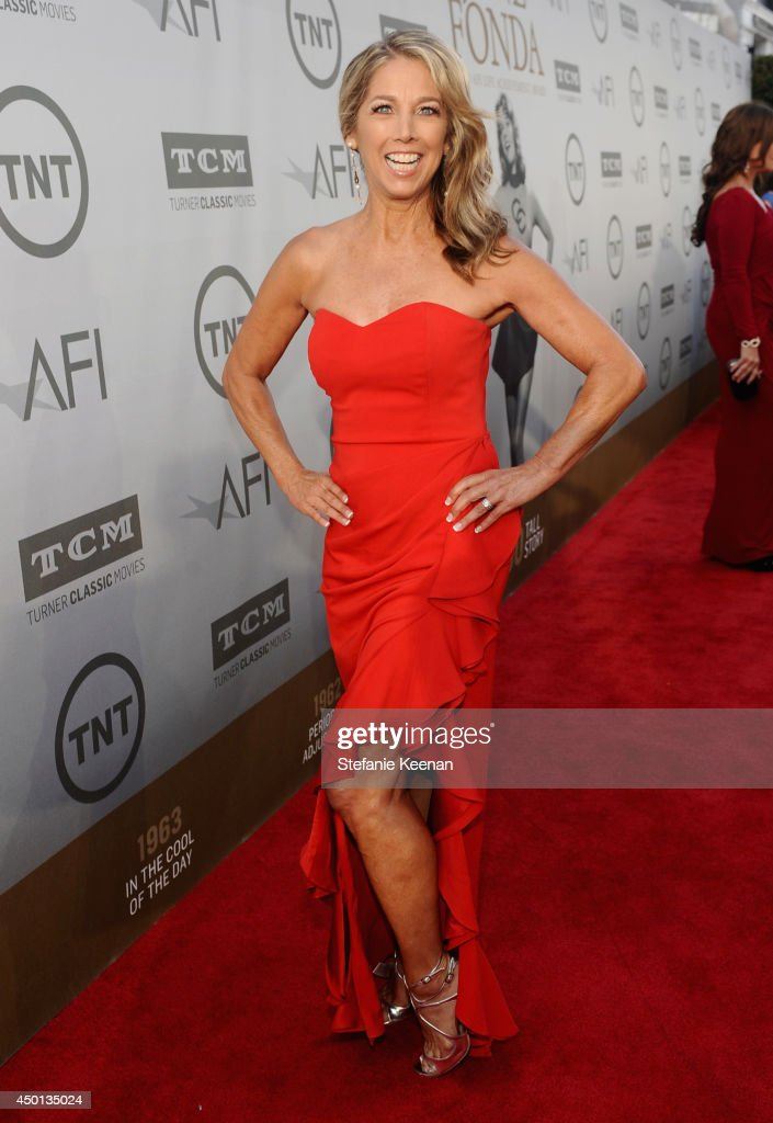 Author and fitness instructor <a gi-track='captionPersonalityLinkClicked' href=/galleries/search?phrase=Denise+Austin&family=editorial&specificpeople=956724 ng-click='$event.stopPropagation()'>Denise Austin</a> attends the 2014 AFI Life Achievement Award: A Tribute to Jane Fonda at the Dolby Theatre on June 5, 2014 in Hollywood, California. Tribute show airing Saturday, June 14, 2014 at 9pm ET/PT on TNT.