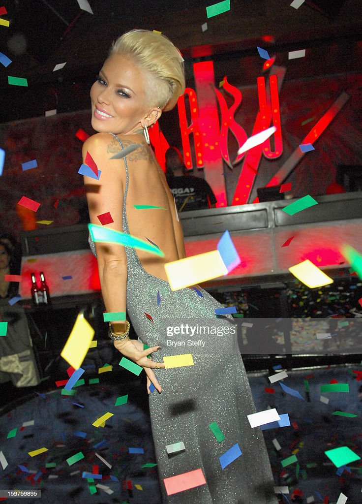 Author and former adult entertainment actress Jenna Jameson appears at Tabu at the MGM Grand Hotel/Casino on January 19, 2013 in Las Vegas, Nevada.