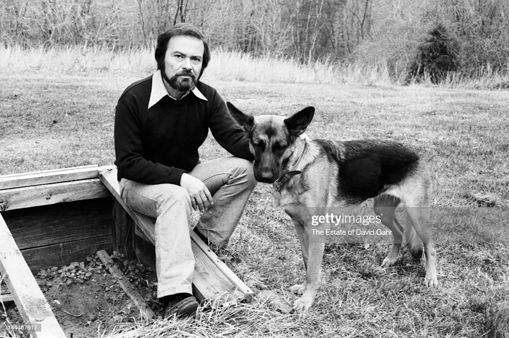 Author and illustrator Maurice Sendak poses for a portrait at home in November 1973 in Ridgefield, Connecticut.