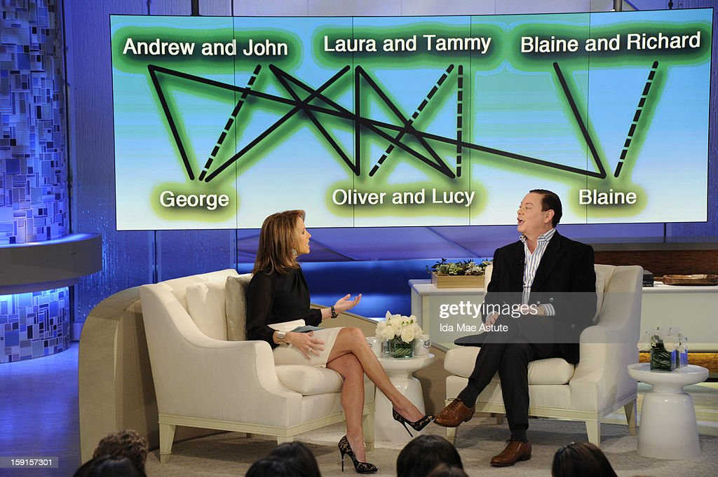 KATIE - 1/8/13- Author and lecturer Andrew Solomon appears on KATIE, distributed by Disney-ABC Domestic Television. (Photo by Ida Mae Astute/ABC via Getty Images) KATIE