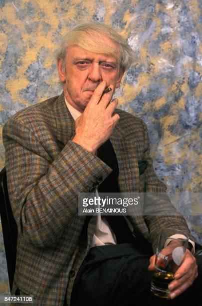 Author And Linguist Anthony Burgess Paris March 20 1989