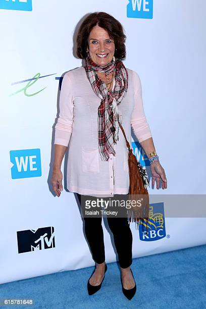 Author and mental health advocate Margaret Trudeau attends We Day Toronto at Air Canada Centre on October 19 2016 in Toronto Canada
