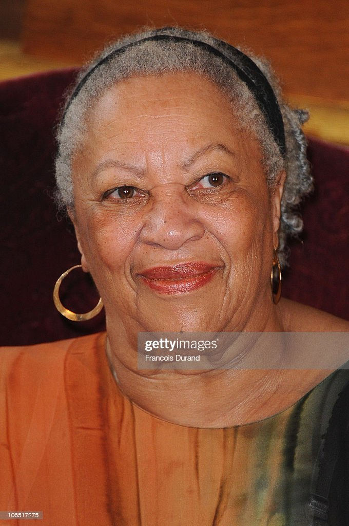 US Author and Nobel Prize in literature winner <a gi-track='captionPersonalityLinkClicked' href=/galleries/search?phrase=Toni+Morrison&family=editorial&specificpeople=213946 ng-click='$event.stopPropagation()'>Toni Morrison</a> receives the Honor Medal of The City of Paris (Grand Vermeil) at Mairie de Paris on November 4, 2010 in Paris, France.