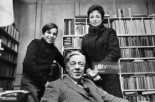 Author and Poet Cecil Day Lewis with his wife actress Jill Balcon and son Daniel January 1968 P009910