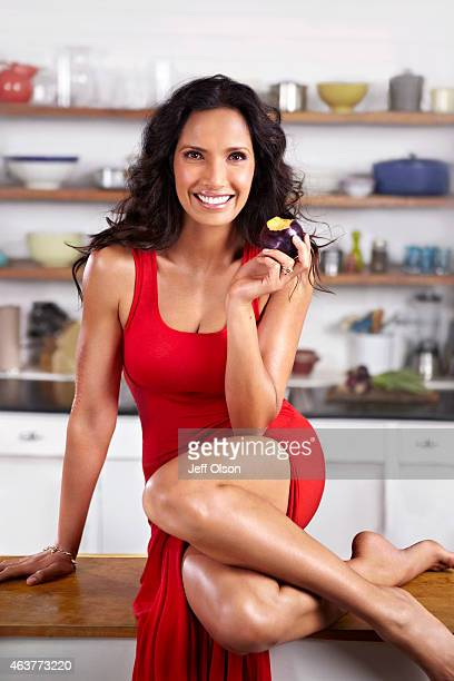 Author and television host Padma Lakshmi is photographed for Fitness Magazine in November in New York City