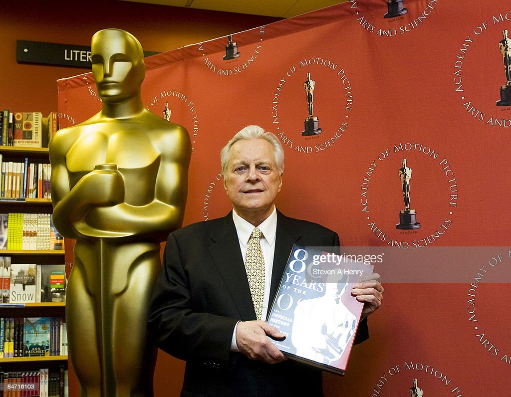 Author and television personality Robert Osborne promotes '80 Years of the Oscar The Official History of the Academy Awards' at Borders on February 9...