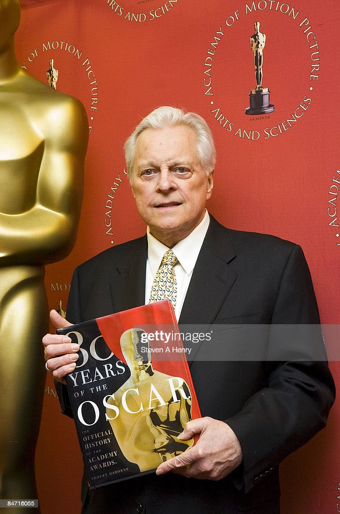 Author and television personality Robert Osborne promotes his new book '80 Years of the Oscar The Official History of the Academy Awards' at Borders...