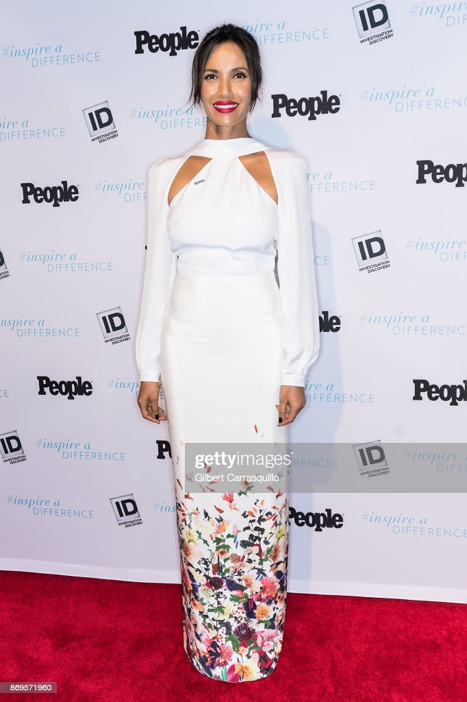 Author and TV host Padma Lakshmi, representing The American Civil Liberties Union (ACLU), attends the 2017 Inspire A Difference Honors Event at Dream Hotel on November 2, 2017 in New York City.