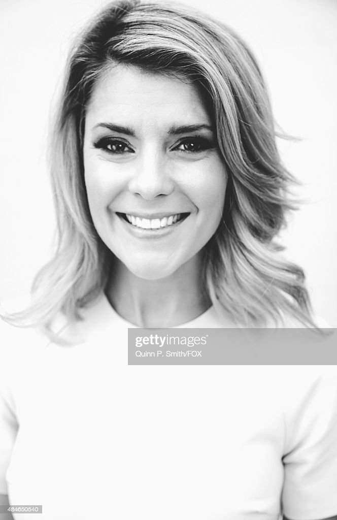 Author and YouTube personality Grace Helbig poses for a portrait during the 2015 Teen Choice Awards FOX Portrait Studio at Galen Center on August 16...