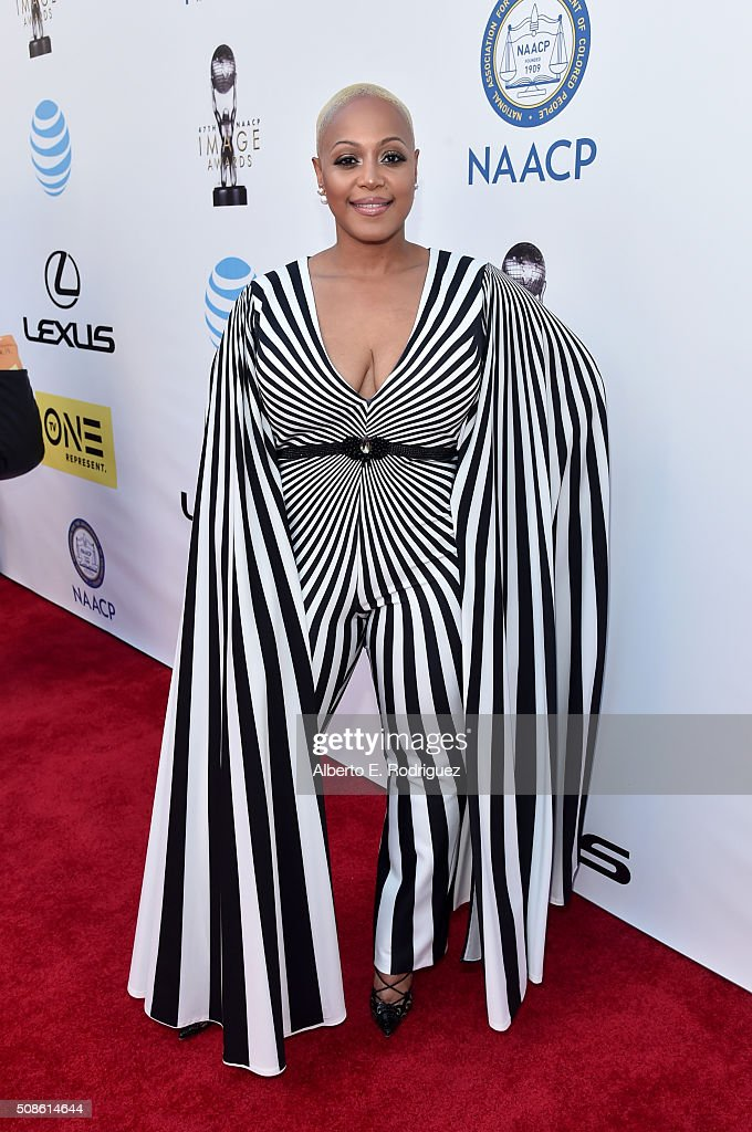 Author Anita Hawkins attends the 47th NAACP Image Awards presented by TV One at Pasadena Civic Auditorium on February 5, 2016 in Pasadena, California.