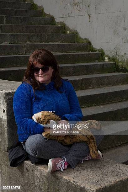 Author Anne Lorient a victim of incest by her brother and homeless for 20 years she tells her story in the book Mes Annees Barbares Paris January 13...