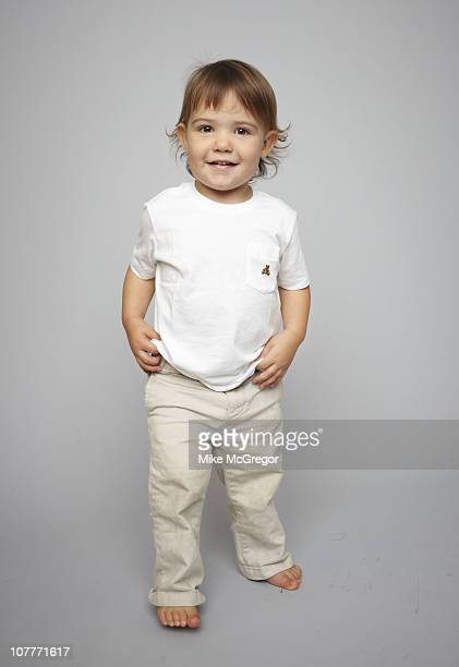 Author Annie Murphy Paul's son Gus poses at a photo shoot for the London Times on September 27 2010 in New Haven Connecticut