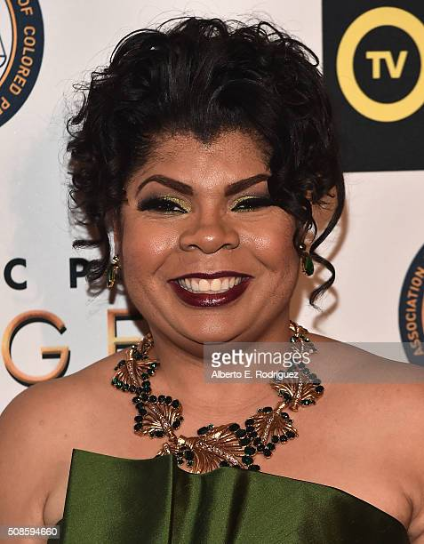 Author April D Ryan attends the 47th NAACP Image Awards NonTelevised Awards Ceremony on February 4 2016 in Pasadena California