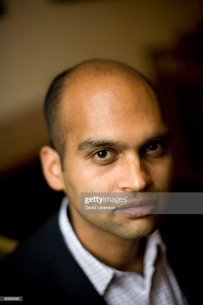 Author Aravind Adiga poses for a portrait at the annual 'Sunday Times Oxford Literary Festival' held at Christ Church on April 5, 2008 in Oxford, England. His new novel is 'The White Tiger'.
