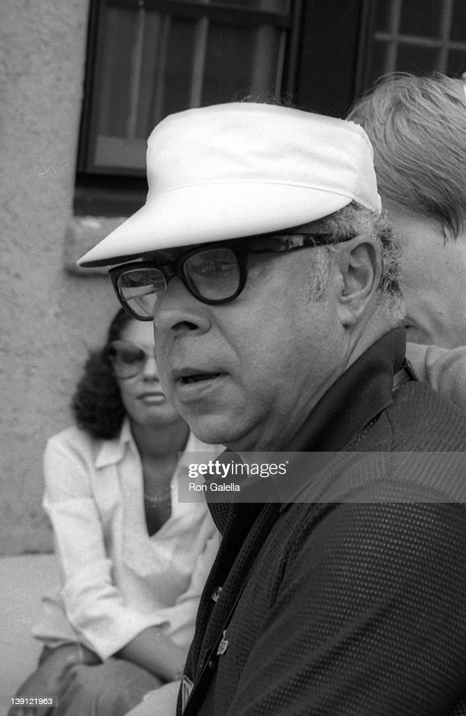 Author <a gi-track='captionPersonalityLinkClicked' href=/galleries/search?phrase=Art+Buchwald&family=editorial&specificpeople=220909 ng-click='$event.stopPropagation()'>Art Buchwald</a> attends Seventh Annual RFK Pro-Celebrity Tennis Tournament on August 26, 1978 at Forest Hills Park in New York City.