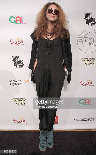Author at Fashion Daily Mag Brigitte Segura attends Meskita by Alessandra Meskita at the STYLE360 Fashion Pavilion in Chelsea on September 11 2013 in...