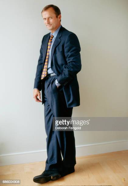 Author attorney and activist John Grisham poses for a portrait in 2007 in New York City New York