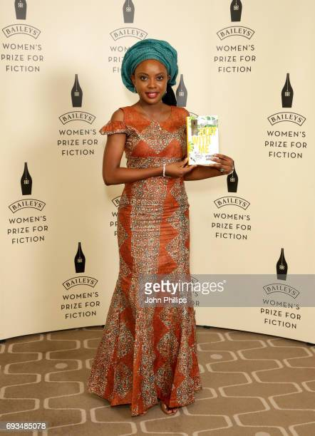 Author Ayobami Adebayo shortlisted for the 2017 Baileys Women's Prize for Fiction for 'Stay With Me' ahead of tonights winner annoucement at the...