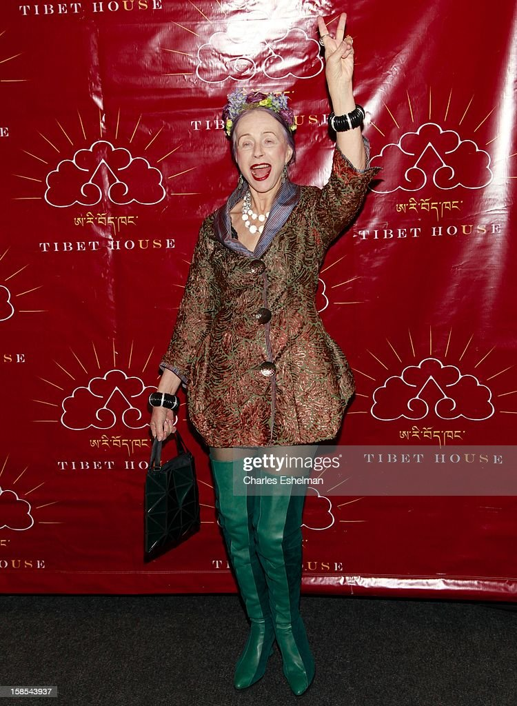 Author Beatrix Ost attends the 10th annual Tibet House Benefit Auction at Christie's Auction House on December 18, 2012 in New York City.