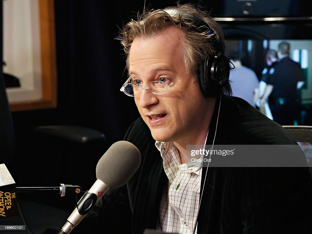 Author Ben Mezrich visits 'The Opie & Anthony Show' at the SiriusXM Studios on May 28, 2013 in New York City.