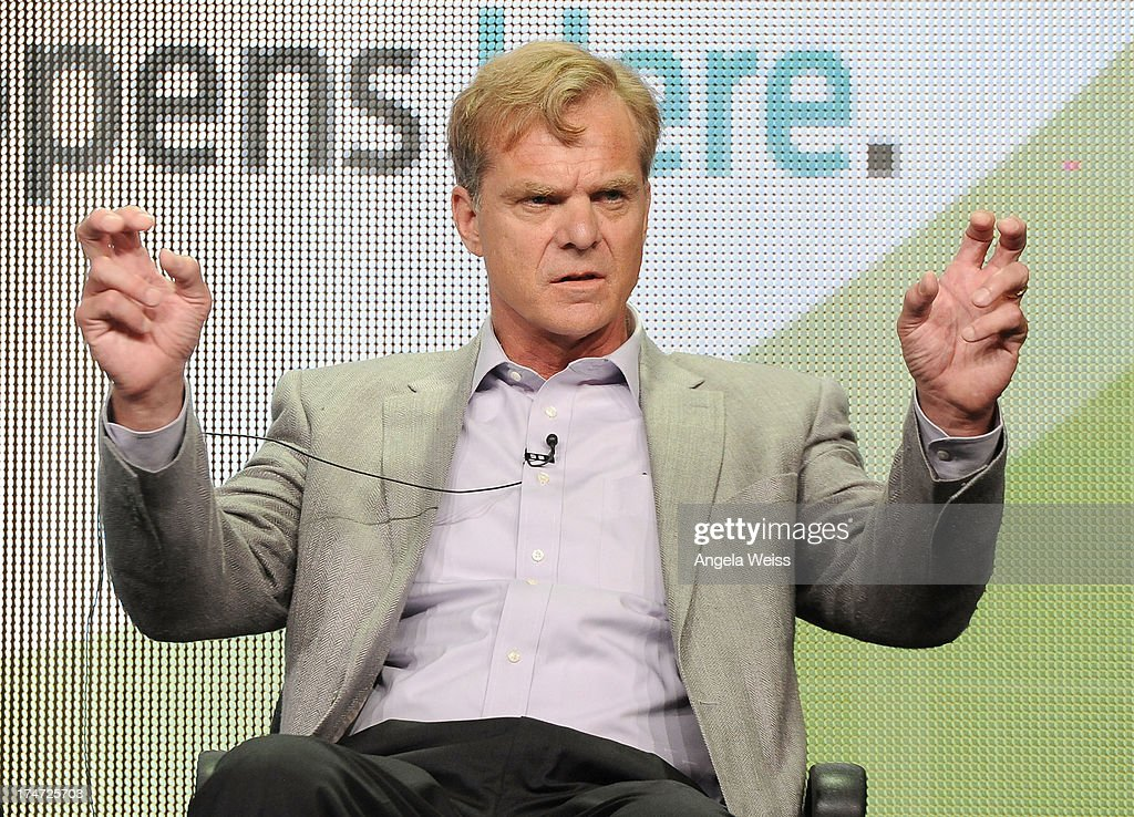 Author Bonar Menninger speaks onstage during 'JFK: The Smoking Gun' panel discussion at the ReelzChannel portion of the 2013 Summer Television Critics Association tour at The Beverly Hilton Hotel on July 28, 2013 in Beverly Hills, California.