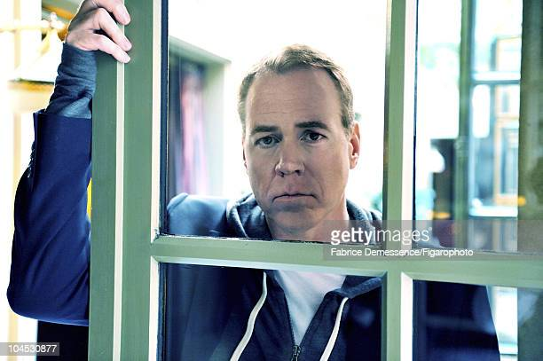 Author Bret Easton Ellis at a portrait session for Le Figaro Magazine in Paris in 2010 at Hotel Coste Image ID010 CREDIT MUST READ Fabrice...