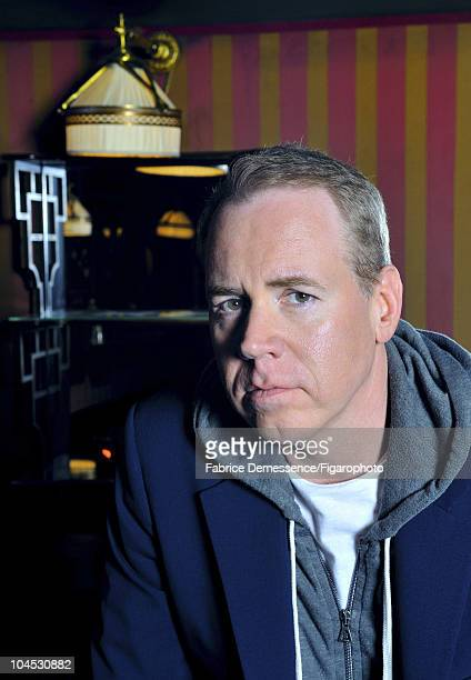 Author Bret Easton Ellis at a portrait session for Le Figaro Magazine in Paris in 2010 at Hotel Coste Image ID032 CREDIT MUST READ Fabrice...