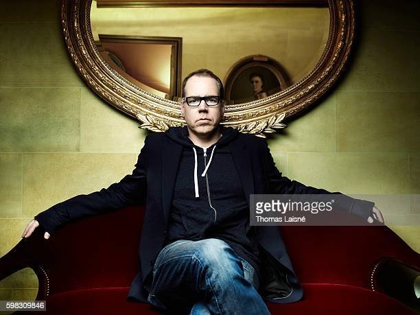 Author Bret Easton Ellis is photographed for Self Assignment on September 21 2010 in Paris France