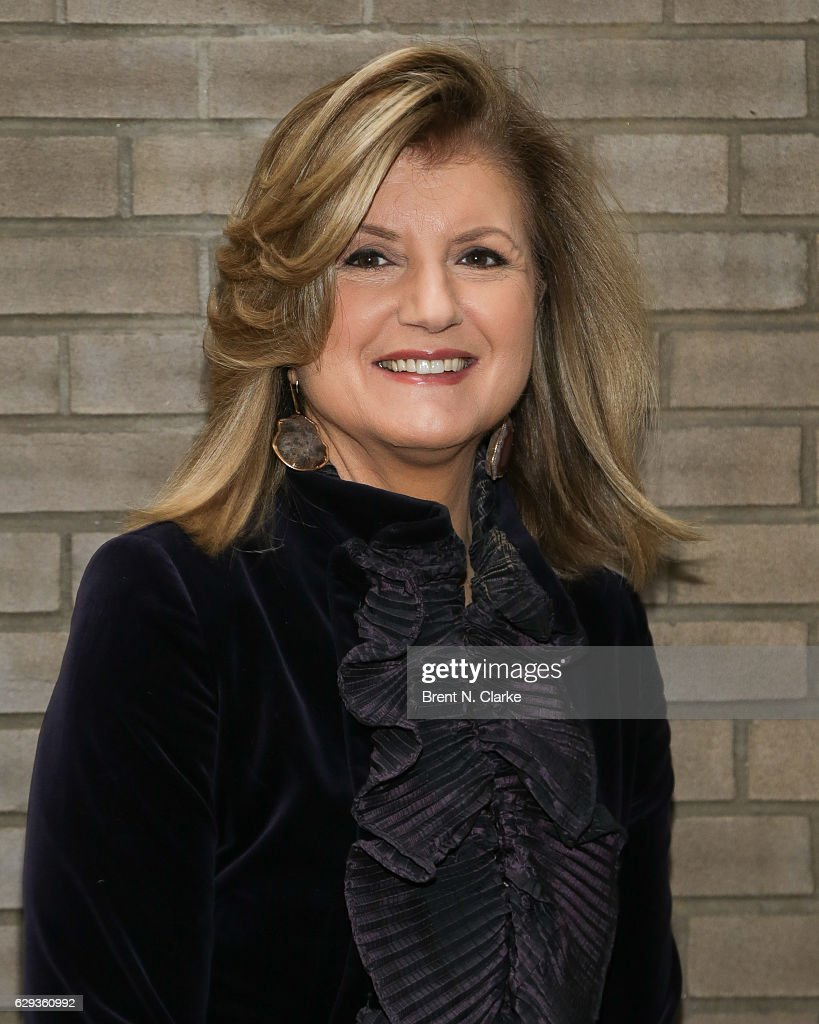 Author, businesswoman Arianna Huffington attends the 2016 Hearst 100 held at Michael's Restaurant on December 12, 2016 in New York City.