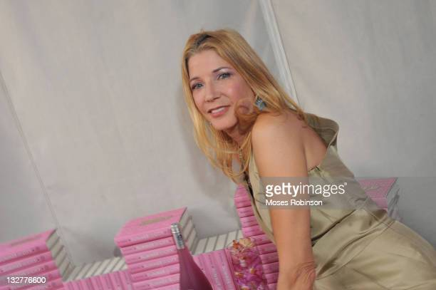Author Candace Bushnell attends 'Summer In The City' Ultimate Girl's Night Out hosted by HPNOTIQ Harmonie at W Atlanta Buckhead on June 29 2011 in...