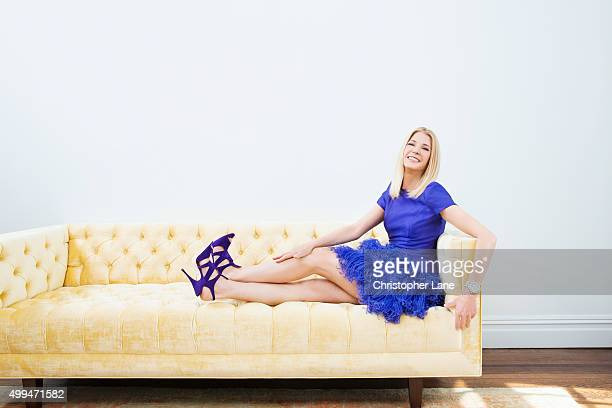 Author Candace Bushnell is photographed for The Times on April 15 2015 in New York City