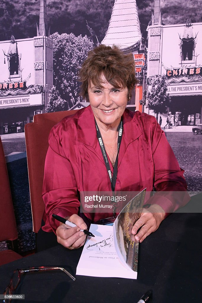 Author Cari Beauchamp attends Cari Beauchamp book signing during day 3 of the TCM Classic Film Festival 2016 on April 30, 2016 in Los Angeles, California. 25826_007