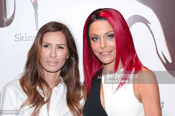 Author Carole Radziwill and Author/Skinny Girl founder Bethenny Frankel attend the Skinny Girl candy launch event held at Dylan's Candy Bar on...