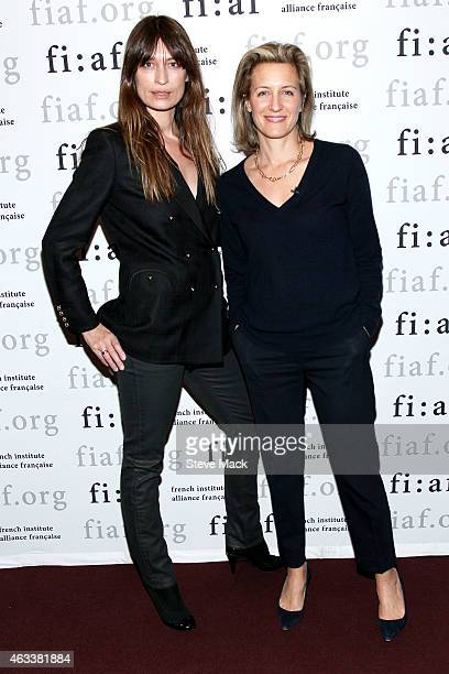 Author Caroline de Maigret and Journalist and curator of FIAF's Creative Leaders Series Melissa Ceria attend FIAF's Creative Leader Series Caroline...