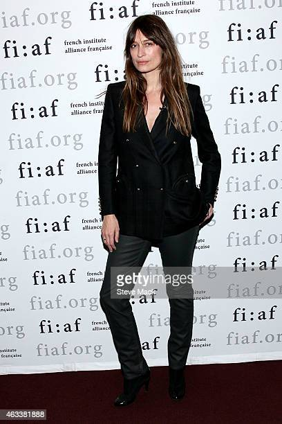 Author Caroline de Maigret attends FIAF's Creative Leader Series Caroline de Maigret at Florence Gould Hall on February 13 2015 in New York City