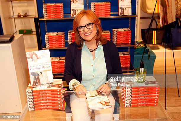 Author Caroline Manzo attends C Wonder Celebrates Mother's Day and Caroline Manzo's Let Me Tell You Something Book Launch at C Wonder on May 1 2013...