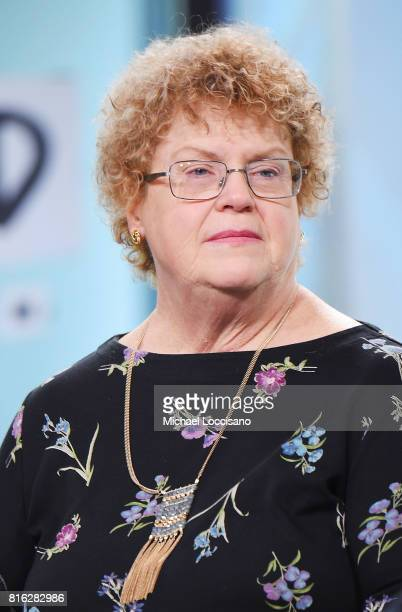 Author Charlaine Harris visits the Build Series to discuss the new TV series 'Midnight Texas' at Build Studio on July 17 2017 in New York City