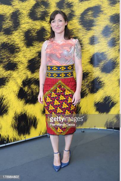 Author Charlotte Roche attends 'Feuchtgebiete' photocall during the 66th Locarno Film Festival on August 11 2013 in Locarno Switzerland