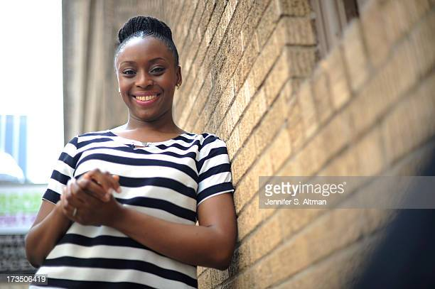 Author Chimamanda Ngozi Adichie is photographed for Los Angeles Times on May 21 2013 in New York City