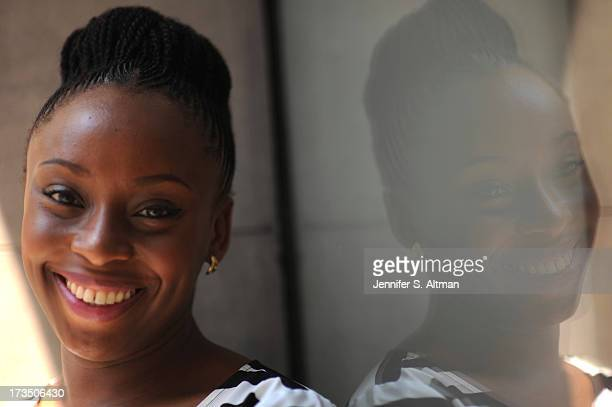 Author Chimamanda Ngozi Adichie is photographed for Los Angeles Times on May 21 2013 in New York City PUBLISHED IMAGE