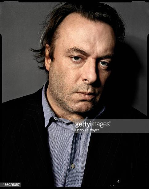 Author Christopher Hitchens photographed for the New York Times Magazine on November 19 in Washington DC