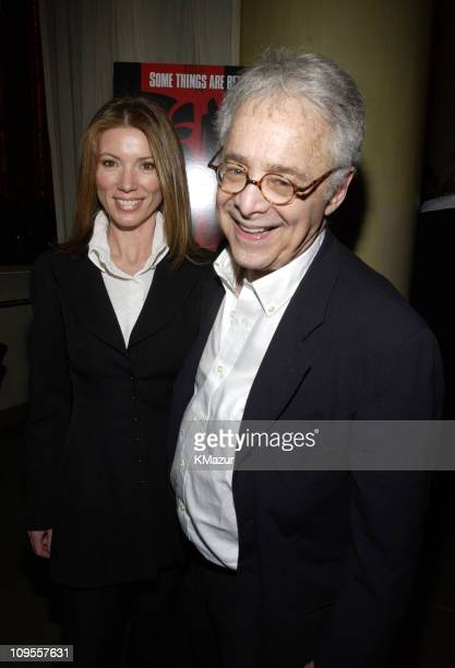 Author Chuck Barris and wife Julie during 'Confessions of A Dangerous Mind' New York Premiere AfterParty at The W Hotel in New York City New York...