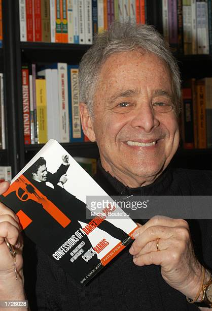 Author Chuck Barris poses during an instore appearance to promote his new book ' Confessions of a Dangerous Mind ' at The Book Soup on January 14...