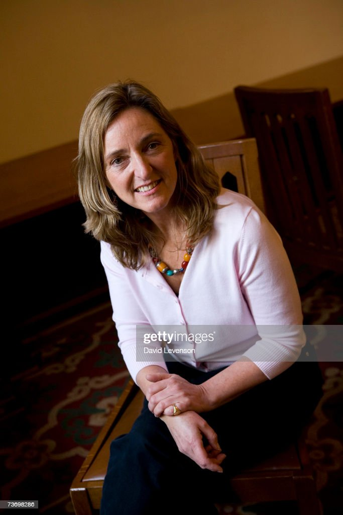 Author Claire Bertschinger, the nurse who inspired Live Aid, poses for a portrait at the annual 'Sunday Times Oxford Literary Festival' held at Christ Church on March 25, 2007 in Oxford, England.