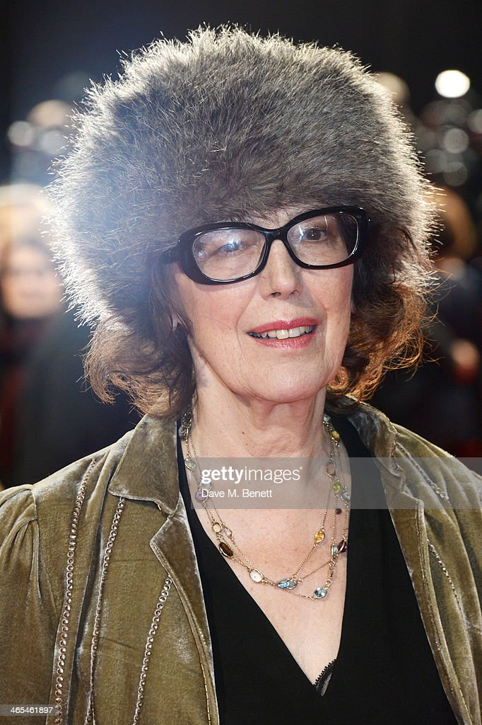 Author Claire Tomalin attends the UK Premiere of 'The Invisible Woman' at the ODEON Kensington on January 27, 2014 in London, England.