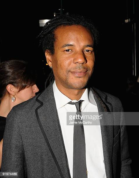 Author Colson Whitehead attends The 2009 New Yorker Festival Party hosted by David Remnick at The Cooper Square Hotel on October 17 2009 in New York...