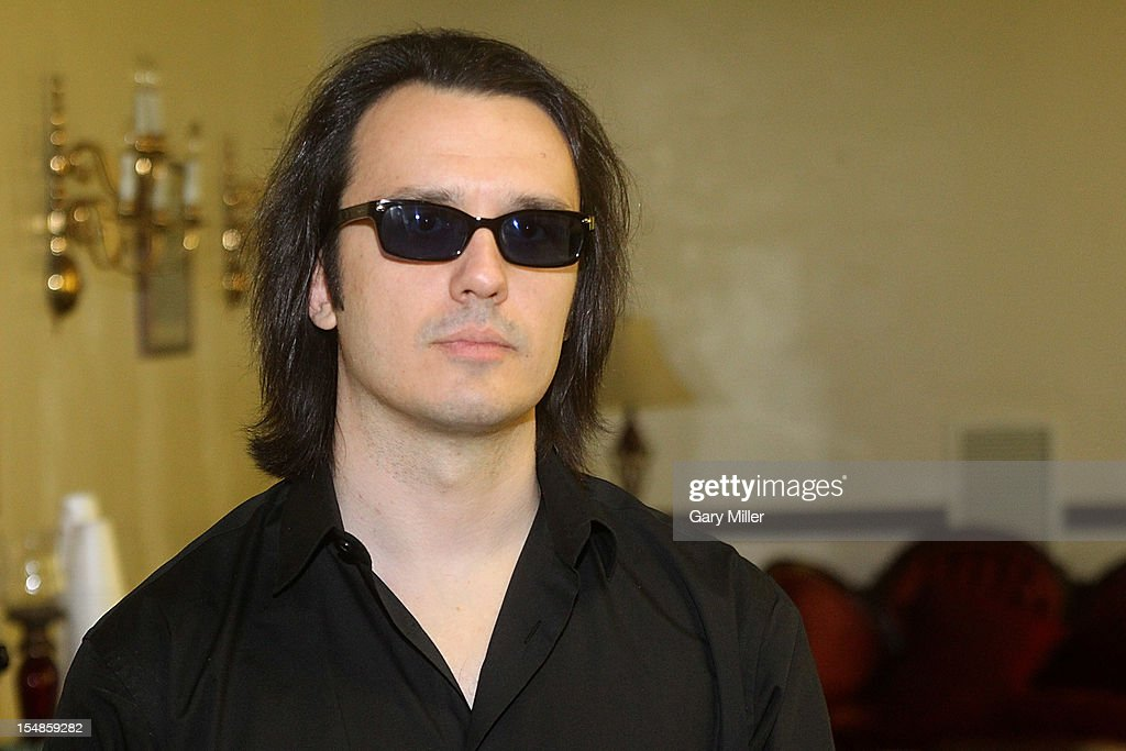 Author Damien Echols, one of the 'West Memphis Three' speaks about his book 'Life After Death' during the Texas Book Festival at the First United Methodist Church on October 27, 2012 in Austin, Texas.