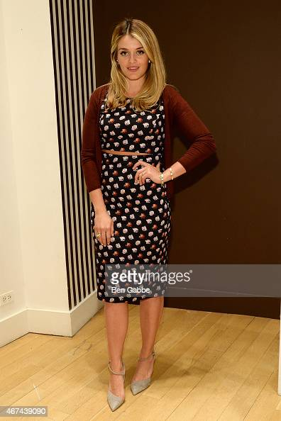 Author Daphne Oz attends an evening at Henri Bendel on March 24 2015 in New York City
