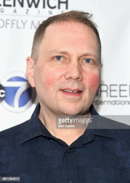 Author Dav Pilkey attends the screening of Captain Underpants during Greenwich International Film Festival Day 1 on June 1 2017 in Greenwich...