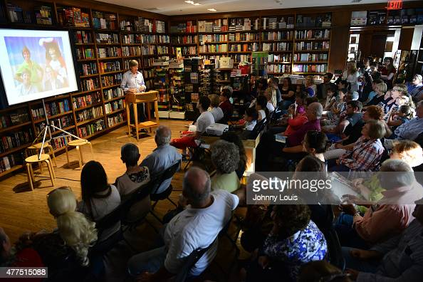 Author Dave Barry greets fans and signs copies of his book ' The Worst Class Trip Ever ' at Books and BooksGables on June 17 2015 in Coral Gables...